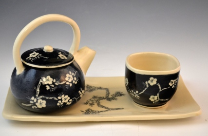 Cherry Tea Set