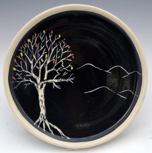 Autumn Tree Plate