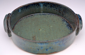 Ash Blue Quiche Dish