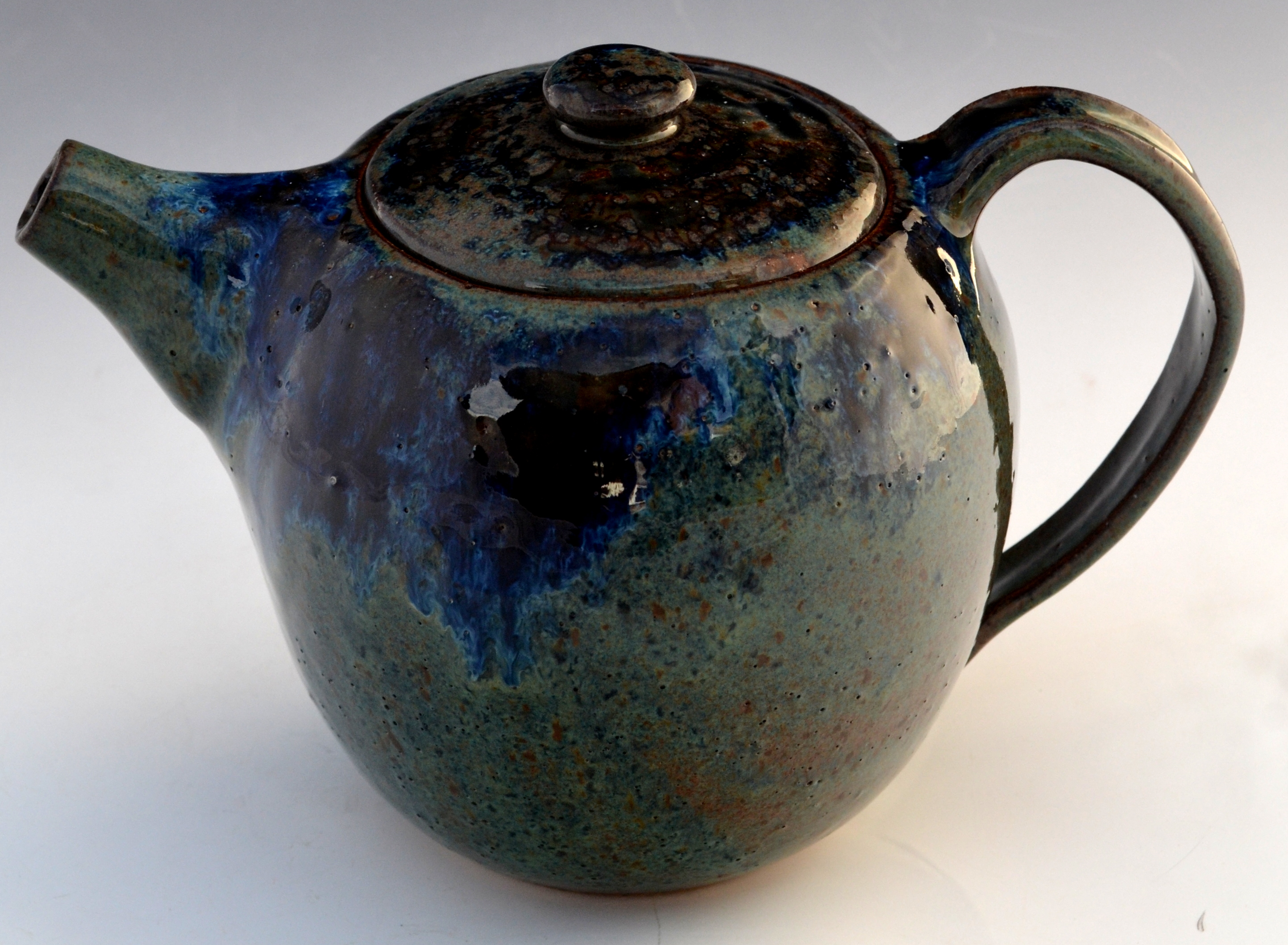 Ash Blue Pottery Clay Wood Paper