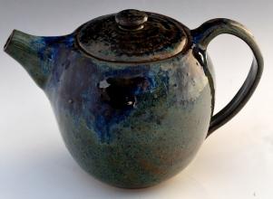 Ash Blue Teapot