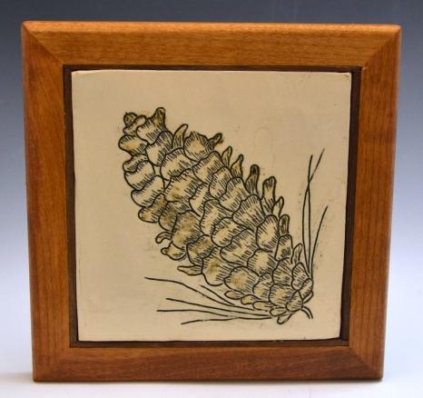 Pine Cone Trivet