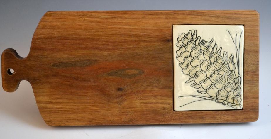 pine-cone-serving-board
