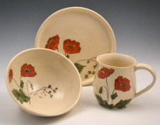 Poppy Breakfast Set