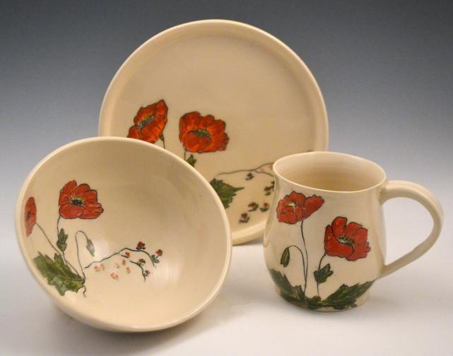 Poppy Breakfast Set