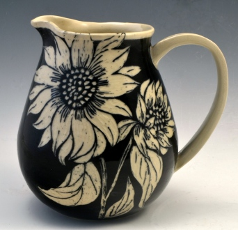 Sunflower Pitcher