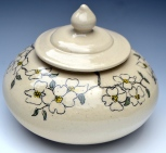 Dogwood Lidded Jar
