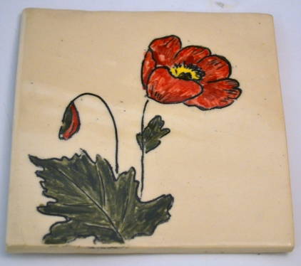 Poppy Mishima Tile