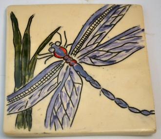 Dragonfly Mishima Tile