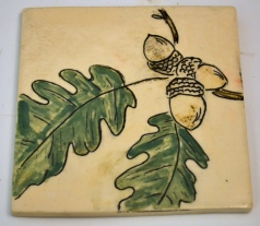 Oak Leaf Mishima Tile