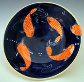 Koi Serving Bowl