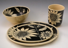 Sunflower Breakfast Set
