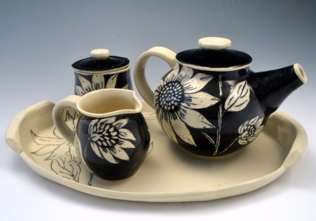 Sunflower Tea Set